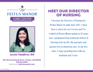 Director of Nursing at Festus Manor